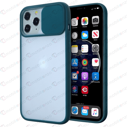 Camera Protector Case for iPhone 12 Pro Max (6.7) - Navy Green