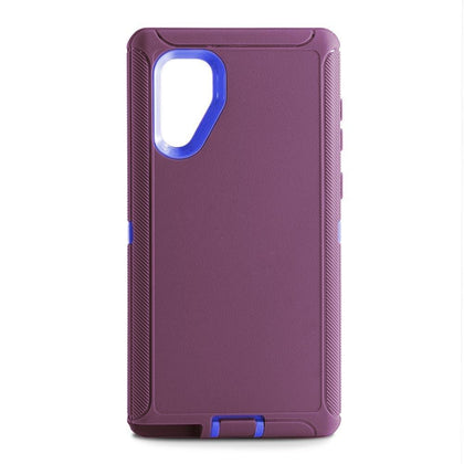 DualPro Protector Case for Samsung N10 Plus - Purple & Blue