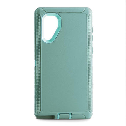 DualPro Protector Case for Samsung N10 Plus - Teal & Light Teal