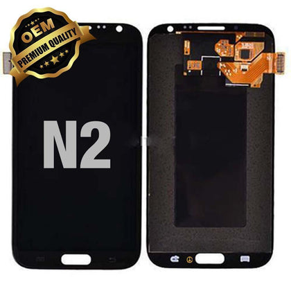 LCD Assembly for GALAXY NOTE 2 (N7100) (Premium) - Black | MobilEnzo