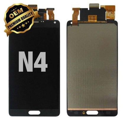 LCD Assembly for GALAXY NOTE 4 (N910) (Premium) - Black | MobilEnzo