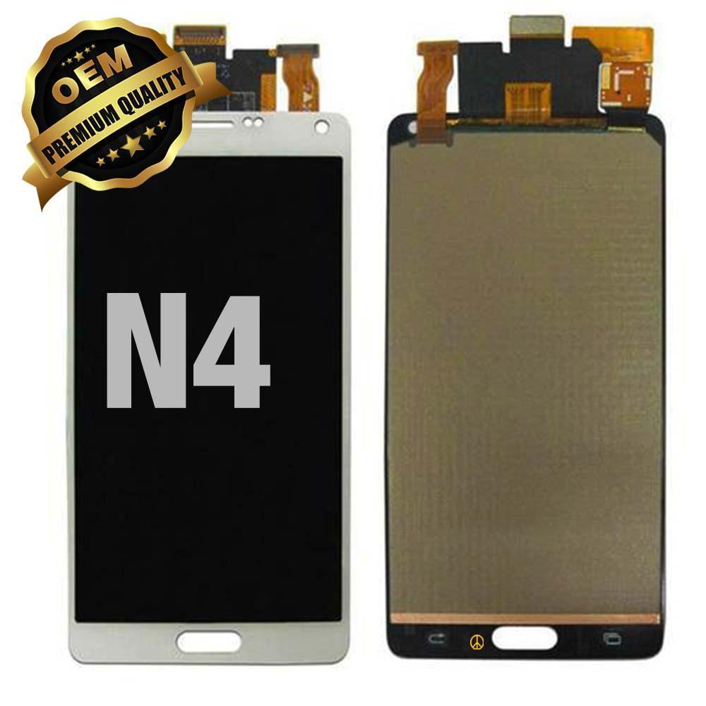 LCD Assembly for GALAXY NOTE 4 (N910) (Premium) - White