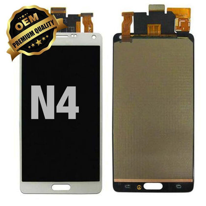 LCD Assembly for GALAXY NOTE 4 (N910) (Premium) - White | MobilEnzo