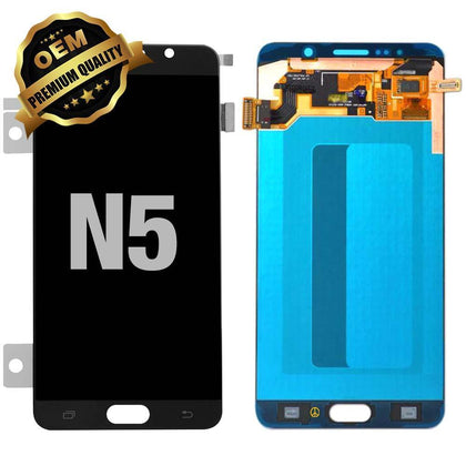 LCD Assembly for Galaxy Note 5 (N920) (Premium) - Black | MobilEnzo