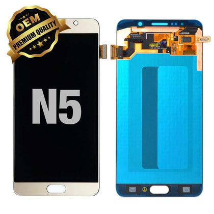 LCD Assembly for Galaxy Note 5 (N920) (Premium) - Gold | MobilEnzo