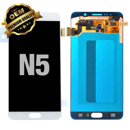 LCD Assembly for Galaxy Note 5 (N920) (Premium) - White | MobilEnzo