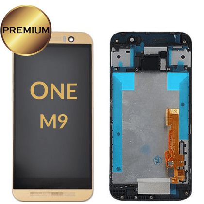 LCD Assembly for HTC One M9 With Frame - Gold