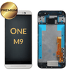 LCD Assembly for HTC One M9 With Frame - White