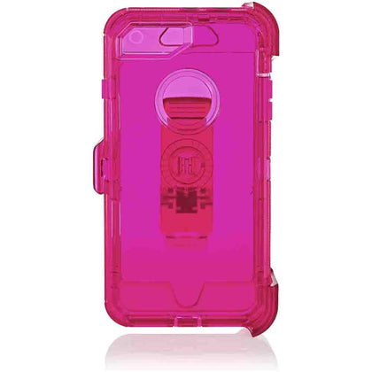 Transparent  DualPro Protector Case for iPhone 11 - Pink