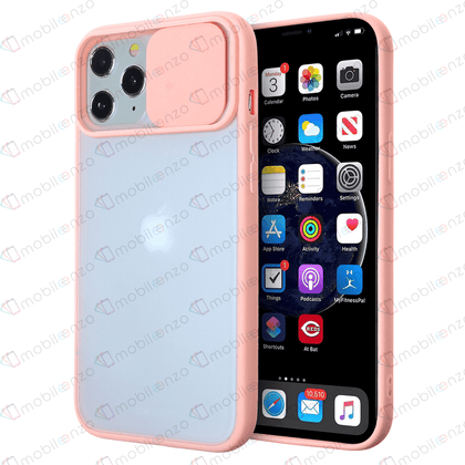 Camera Protector Case for iPhone 12 / 12 Pro (6.1) - Pink