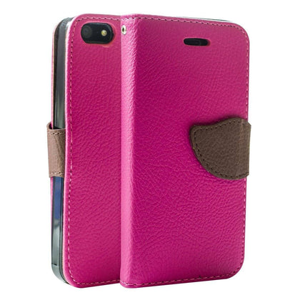 Wing Wallet Case for iPhone 5 - Pink