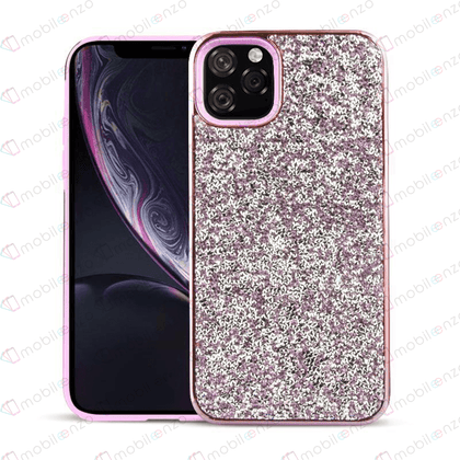 Color Diamond Hard Shell Case for iPhone 11 Pro Max - Pink