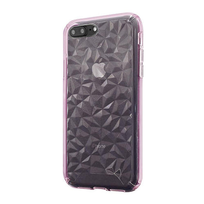3D Crystal Case for iPhone 8/7/6 Plus - Pink