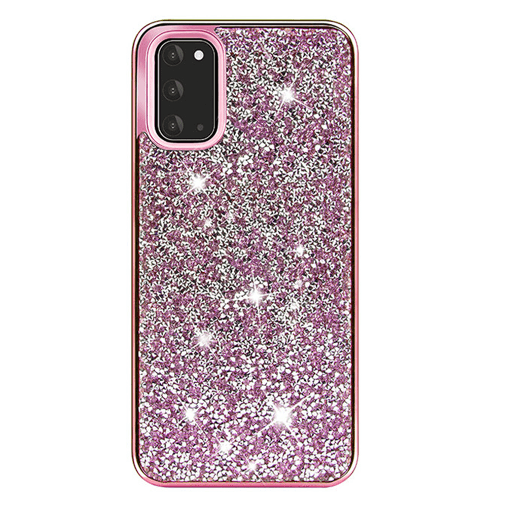 Color Diamond Hard Shell Case for Note 20 - Pink