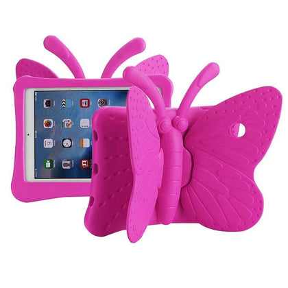 Butterfly Case for iPad Air 1/Air 2/iPad Pro 9.7/ iPad 5 (2017)/iPad 6 (2018) - Pink
