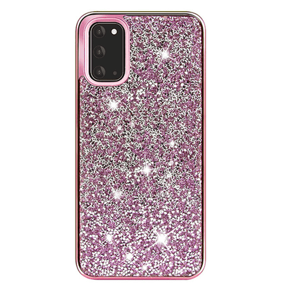 Color Diamond Hard Shell Case for Note 20 Ultra - Pink