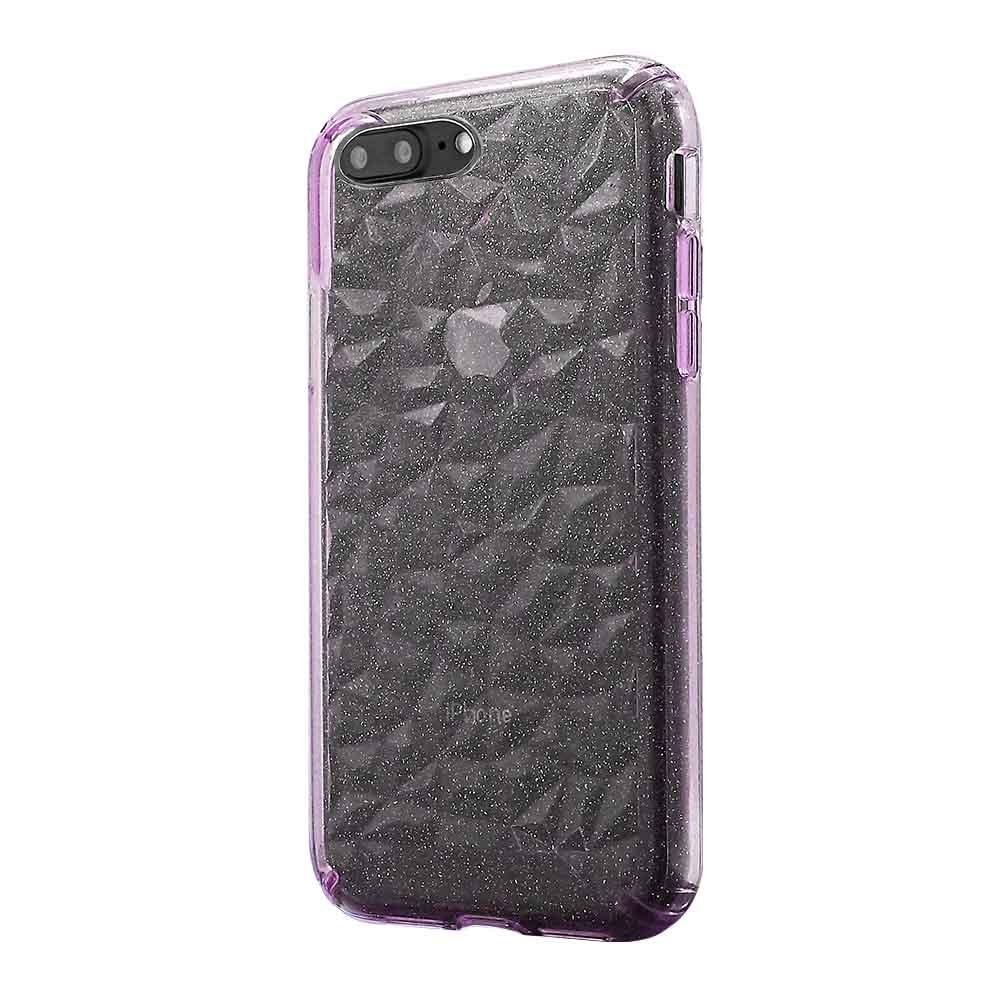 3D Crystal Case for iPhone 8/7/6 - Glitter Pink