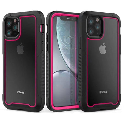 2 in 1 Sport Case for iPhone 11 - Pink
