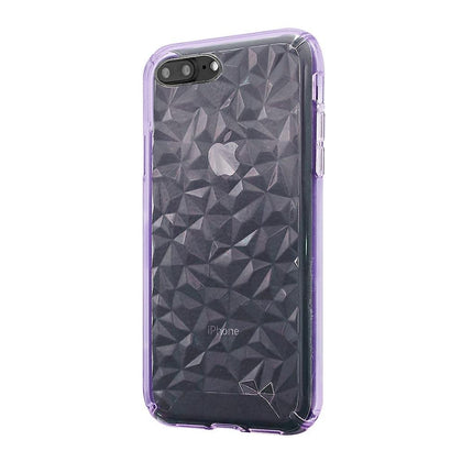 3D Crystal Case for iPhone 8/7/6 Plus - Purple