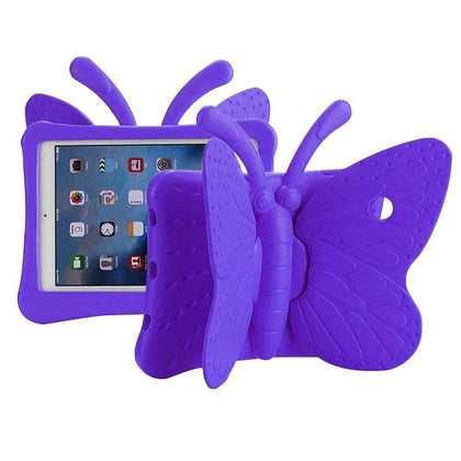 Butterfly Case for iPad Air 1/Air 2/iPad Pro 9.7/ iPad 5 (2017)/iPad 6 (2018) - Purple