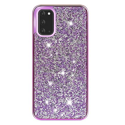Color Diamond Hard Shell Case for Note 20 - Purple