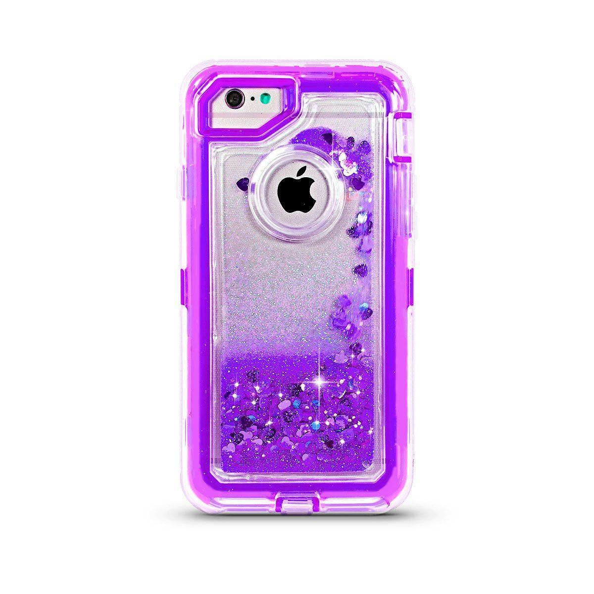 Liquid Protector Case for iPhone 6P/ 7P /8 Plus - Purple