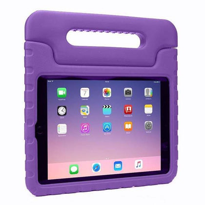 Handle Case (Carry) Case for iPad AIR 1/Air 2/ 9.7/iPad 5 (2017)/iPad 6(2018) - Purple