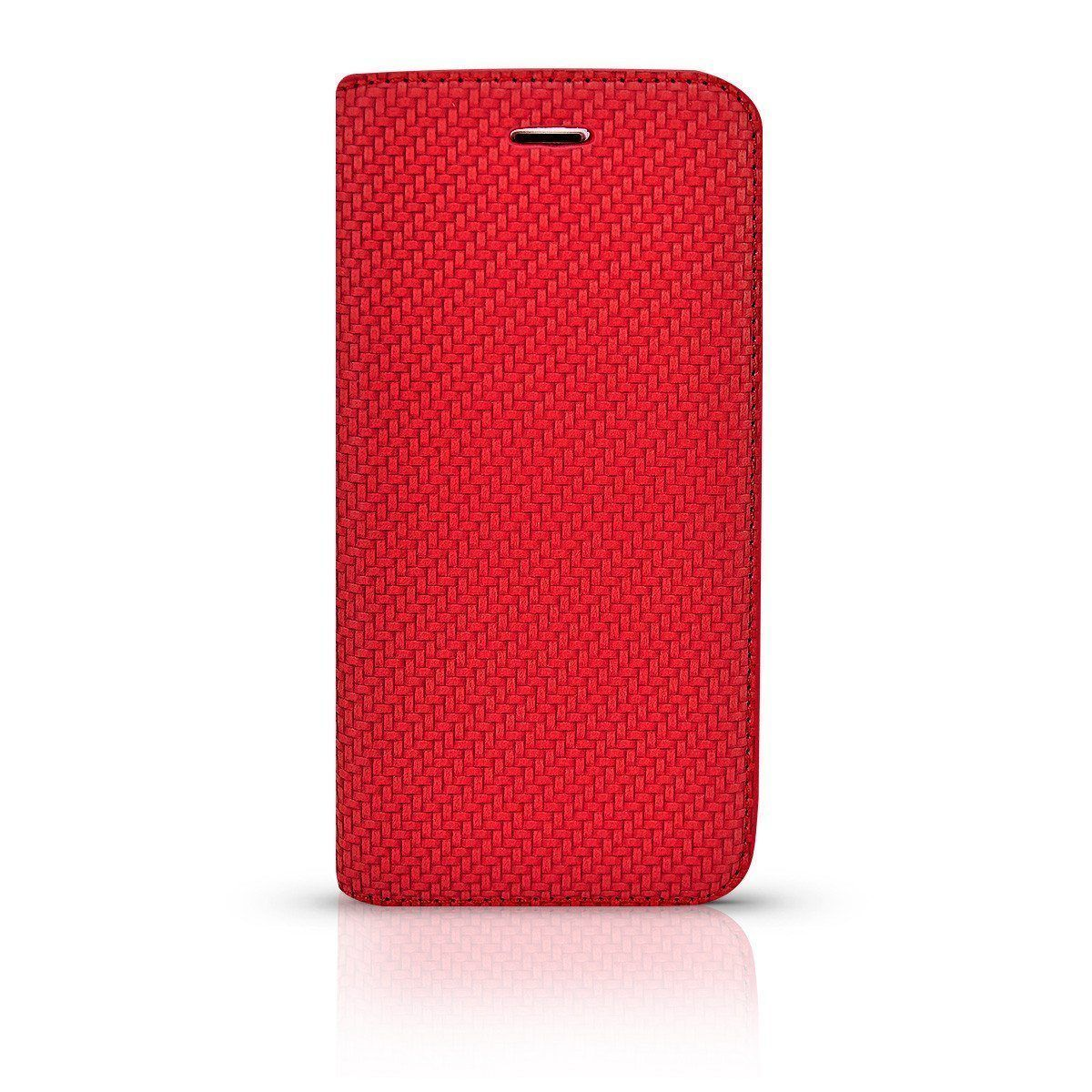 Matte Leather Case for i7 /8 - Red
