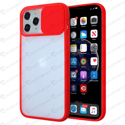 Camera Protector Case for iPhone 12 Pro Max (6.7) - Red
