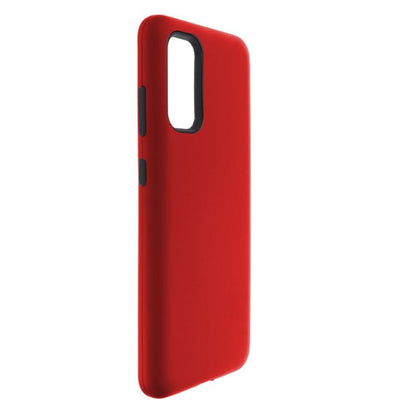 Hybrid Combo Layer Protective Case for Samsung S20 - Red
