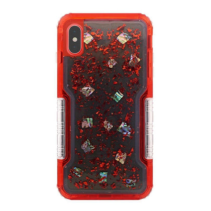 Confetti Protector Case for iPhone Xs Max - Red