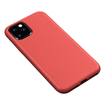 Eco Friendly Hard Rubber Case for iPhone 11 - Red