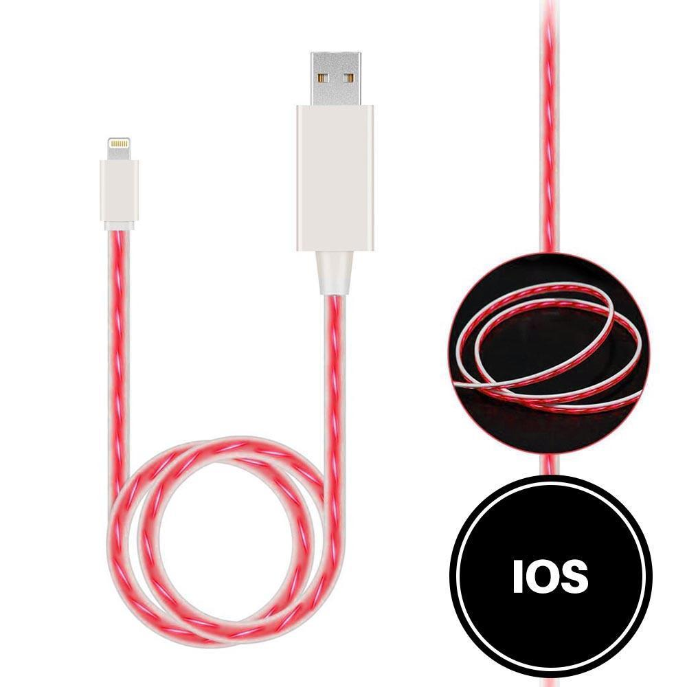 Light Up Cable for IOS - Red