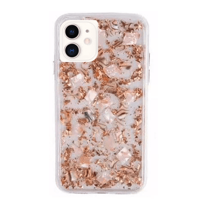 Real Flower Protector Case for iPhone 11 - Rose Gold