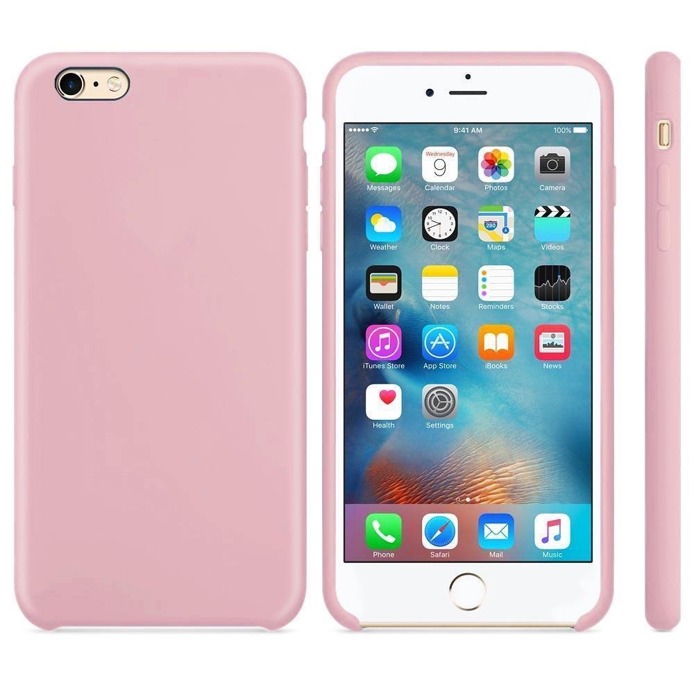 Premium Silicone Case For iPhone 7 /8 - Rose Gold