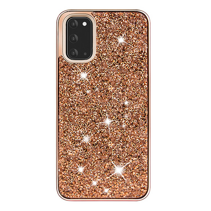 Color Diamond Hard Shell Case for Note 20 Ultra - Rose Gold