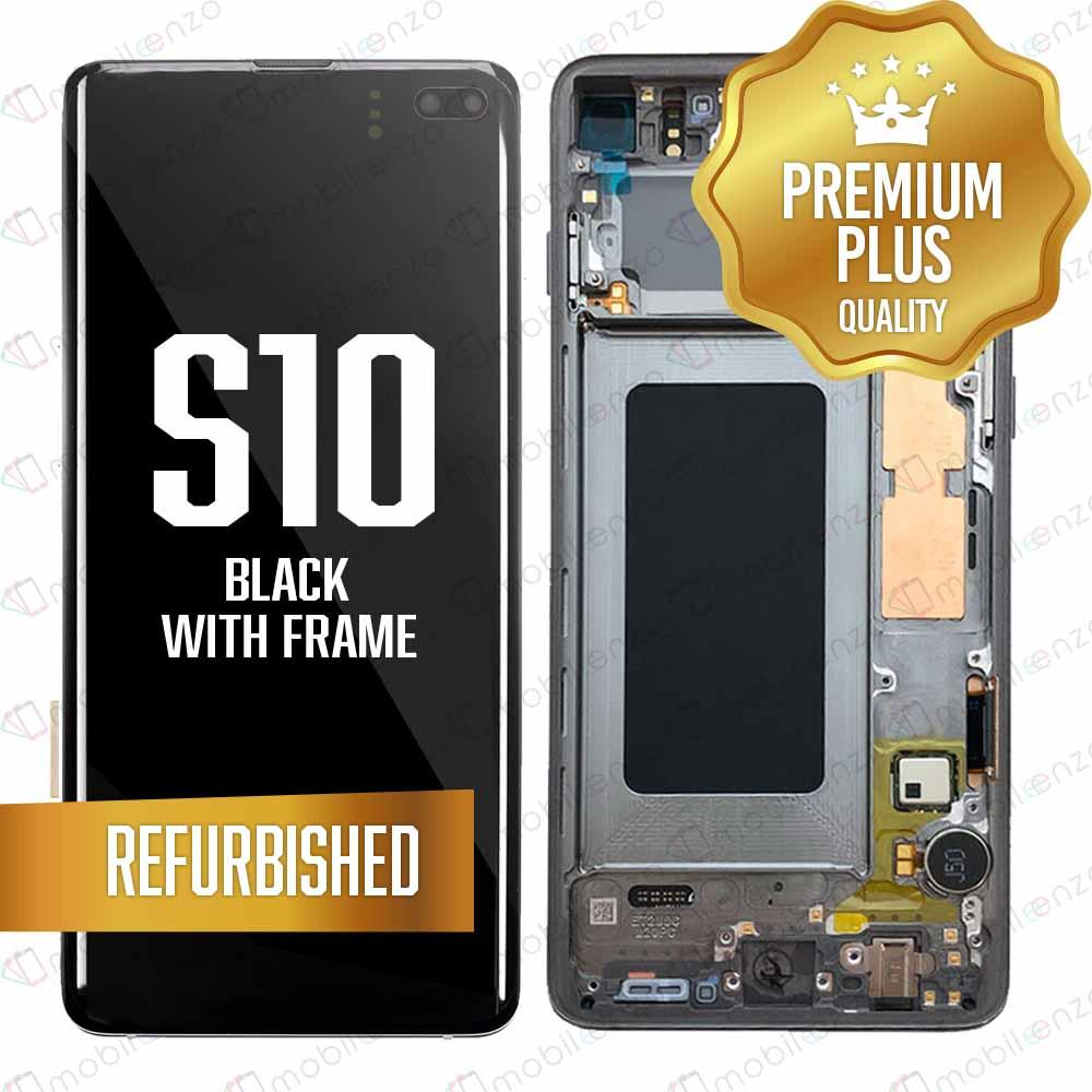 LCD for Samsung Galaxy S10 With Frame - Black
