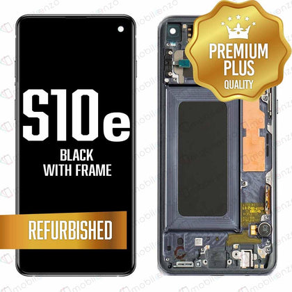 LCD for Samsung Galaxy S10 E With Frame Black