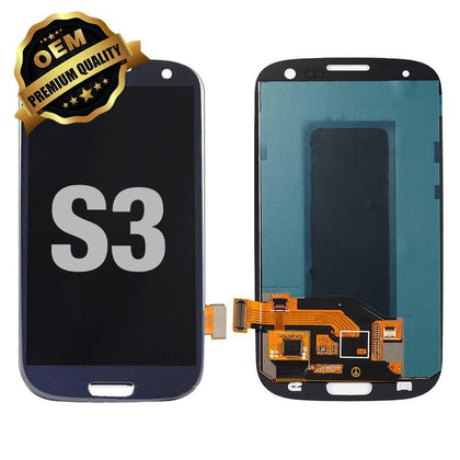 LCD Assembly for GALAXY S3 (Premium) - Blue