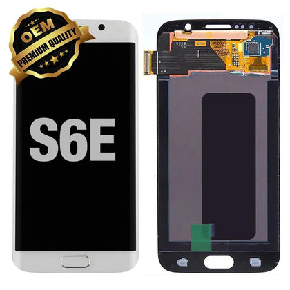 LCD Assembly for GALAXY S6 EDGE (G925) (Premium) - White | MobilEnzo