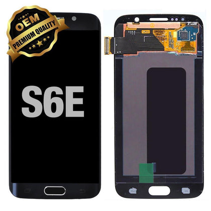 LCD Assembly for GALAXY S6 EDGE (G925) (Premium) - Black Sapphire | MobilEnzo