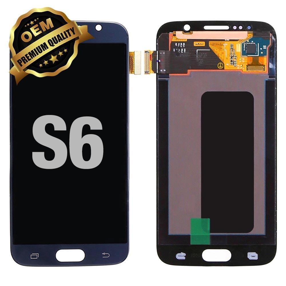 LCD Assembly for GALAXY S6 (G920) (Premium) - Black Sapphire