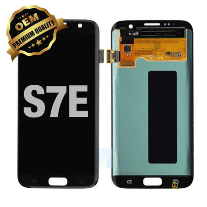 LCD Assembly Without Frame for GALAXY S7 EDGE (G935) (Premium) - Black | MobilEnzo