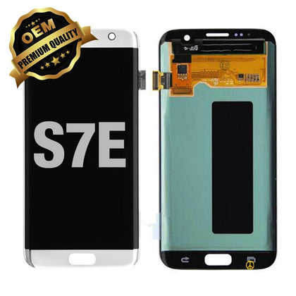 LCD Assembly Without Frame for GALAXY S7 EDGE (G935) (Premium) - Silver | MobilEnzo