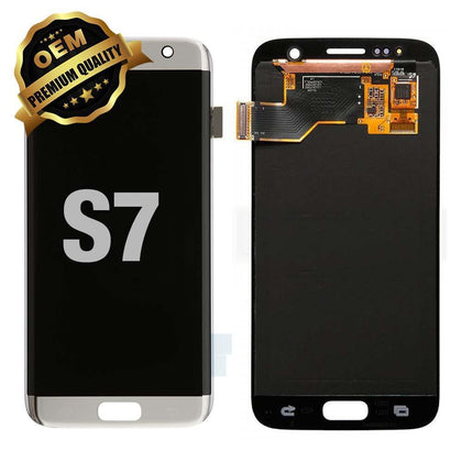 LCD Assembly for GALAXY S7 (G930) (Premium) - Silver | MobilEnzo