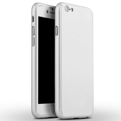 360 Protect Case for iPhone 6 Plus - Silver