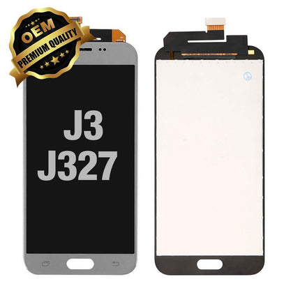 LCD Assembly for Samsung Galaxy J3 Prime (J327 / 2017) - Silver