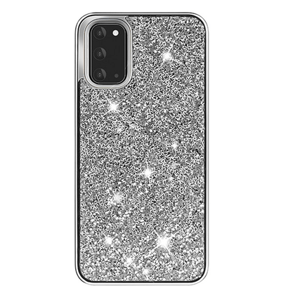 Color Diamond Hard Shell Case for Note 20 Ultra - Silver