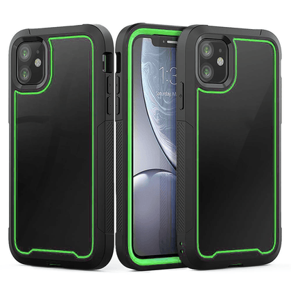 2N1 Sport Case for iPhone 11 - Green