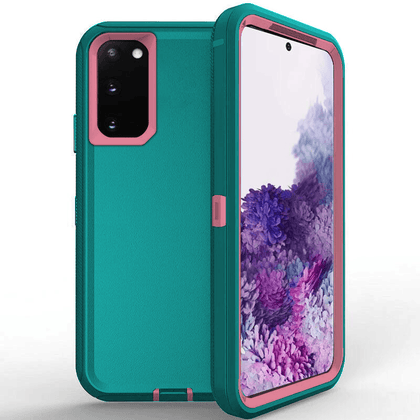 DualPro Protector Case for Galaxy Note 20 Ultra - Teal & Pink